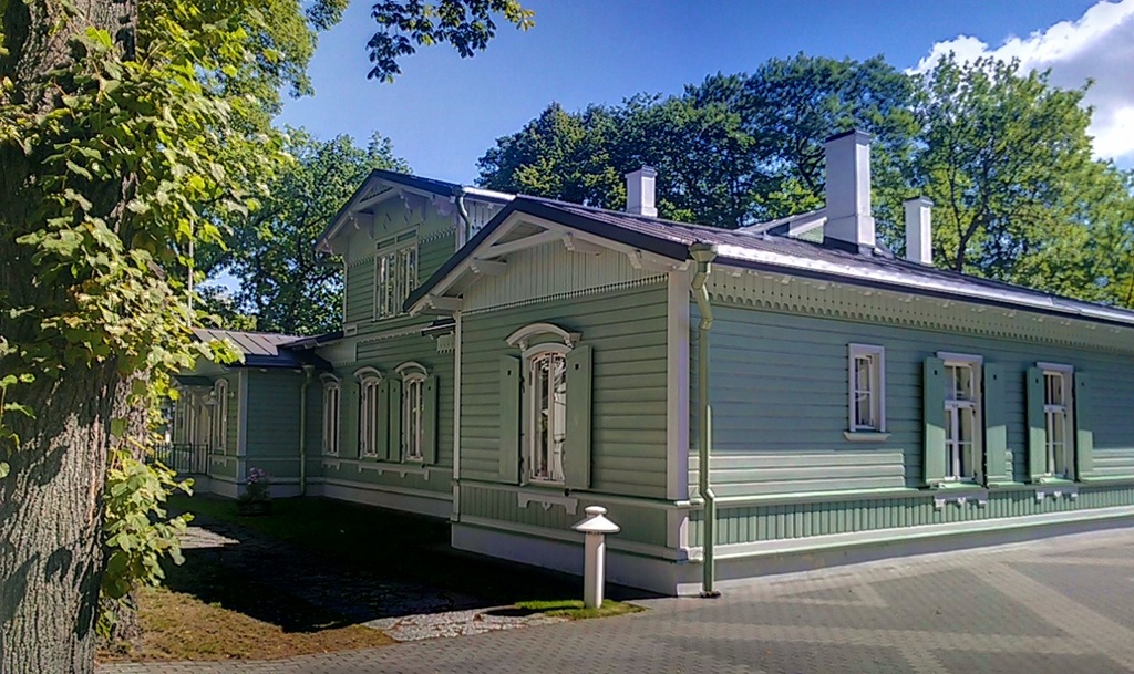 Poska's House - The house in which the Estonian politician Jaan Poska once lived; it is located in J. Poska street, Tallinn.