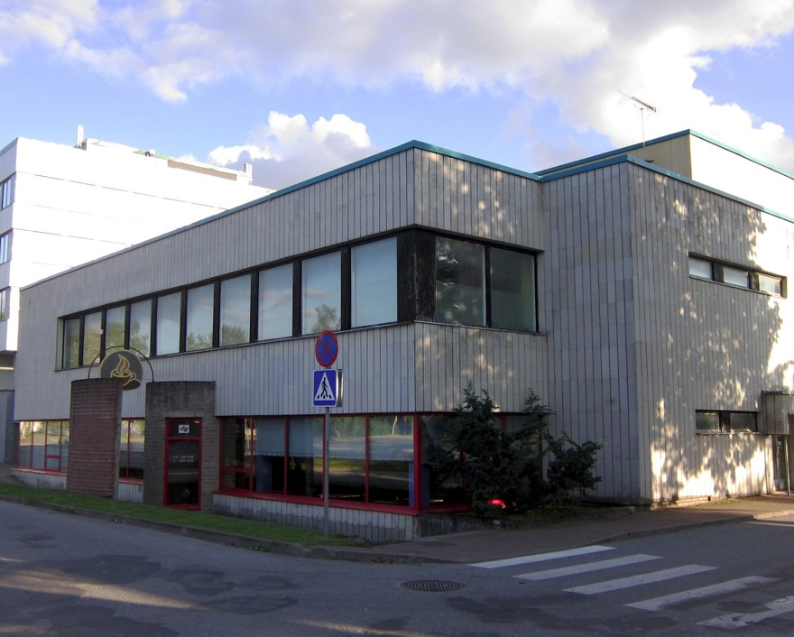 Administrative building in Raplas, view of the building. Architect Helgi Margna; engineer m. Volmer rephoto