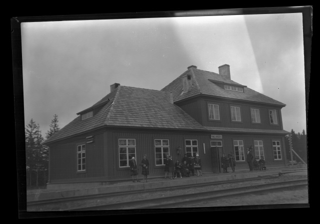 On Otepää tour, Palupera Railway Station
