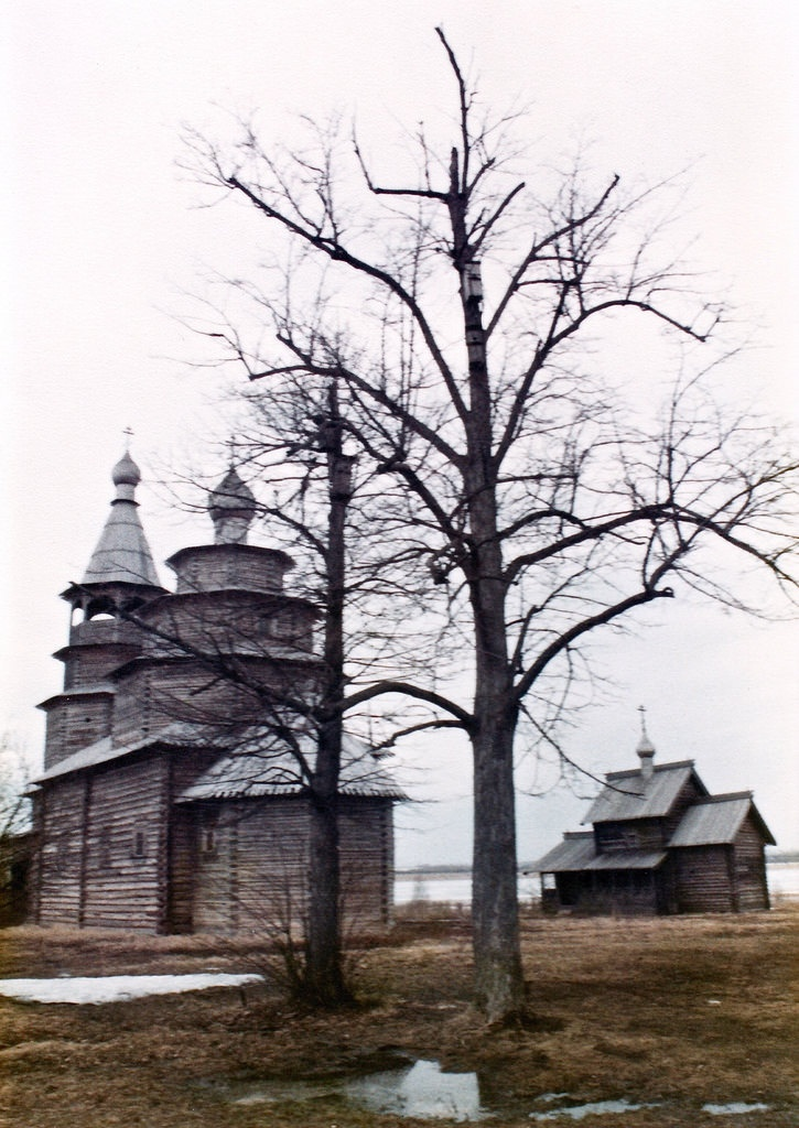 Museum of Wooden Architecture, Vitoslavlitsy, early 1980s
