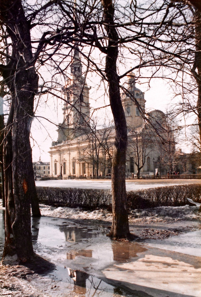 Peter and Paul Fortress, Leningrad, early 1980s