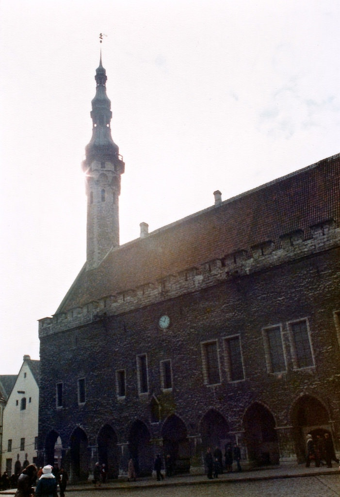 Town Hall, Tallinn, early 1980s