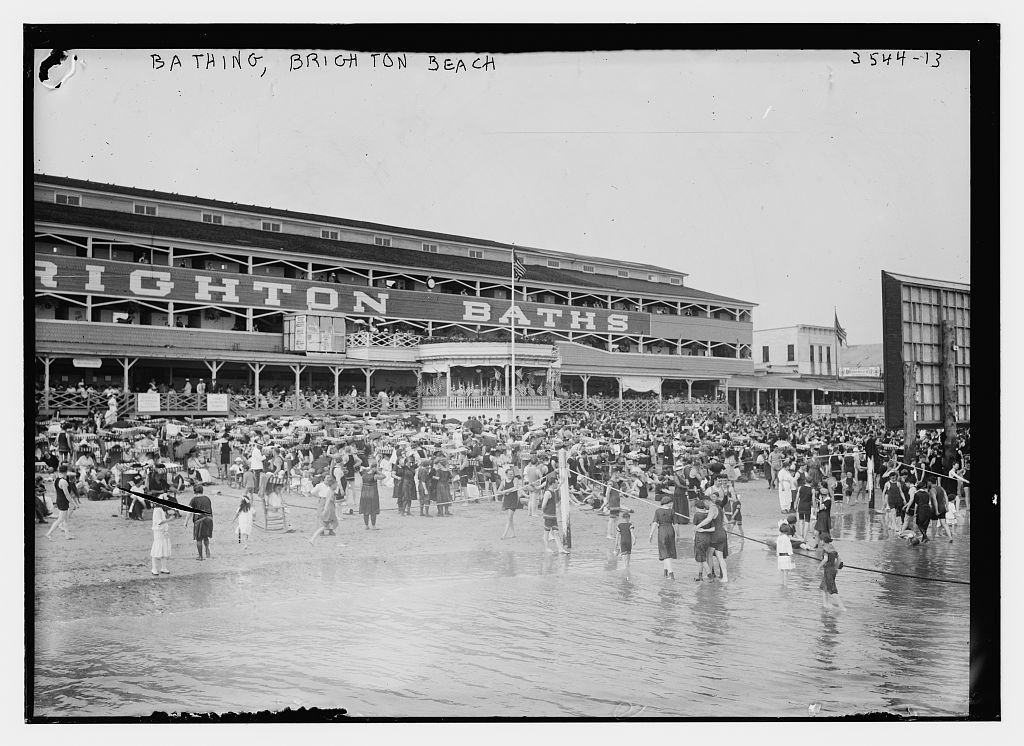 Bathing, Brighton Beach  (LOC)