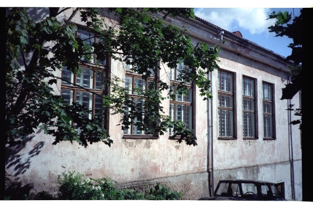 Rakvere Pedagoogika school building on the side of the courtyard