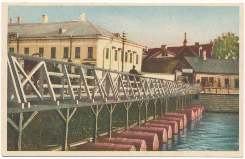 Postcard. Tartu, swimming pool. Located in the album Hm 7955.