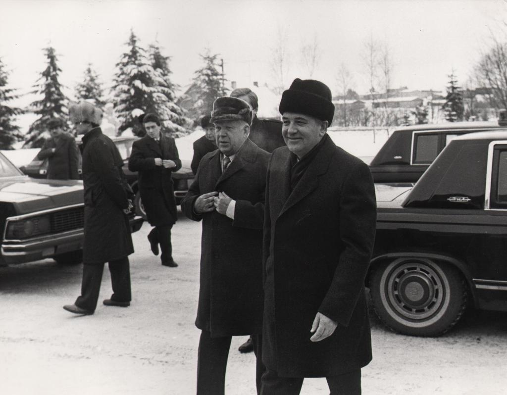 The last Head of State of the Soviet Union, Mikhail Gorbachev, visits Järvamaa