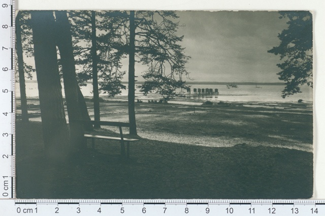 Võsu, sea beach 1913
