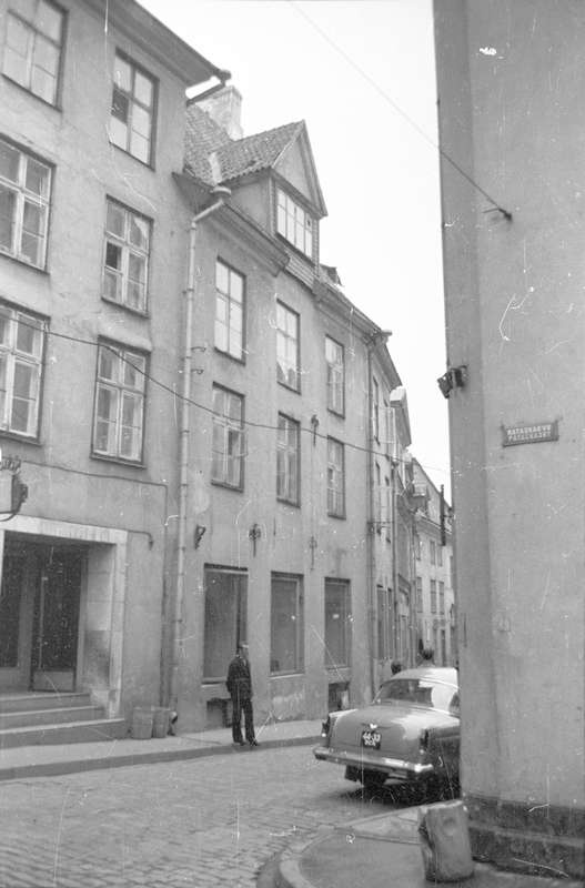 The first location of a small pharmacy on Pikal Street