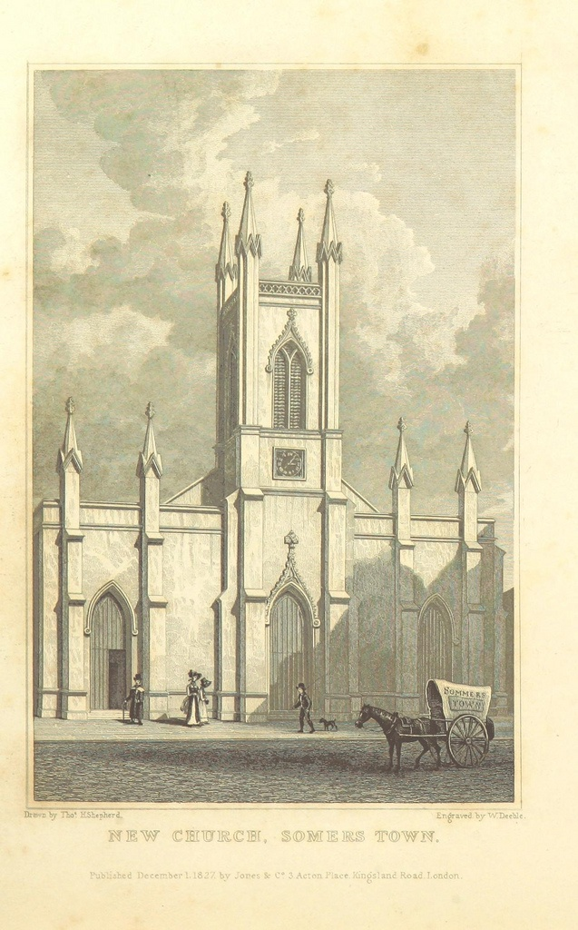 Image taken from page 344 of 'Metropolitan Improvements ... From original drawings by T. H. Shepherd, etc'