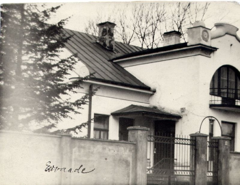 Unidentified buildings photos. Arh. Johann Ostrat Quantity