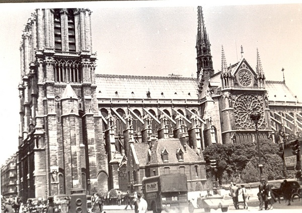 Photo Church of God's Mother in Paris 27.06.1938