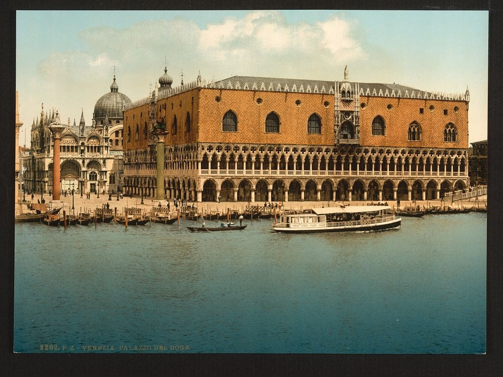 [The Doges' Palace, Venice, Italy] (LOC)