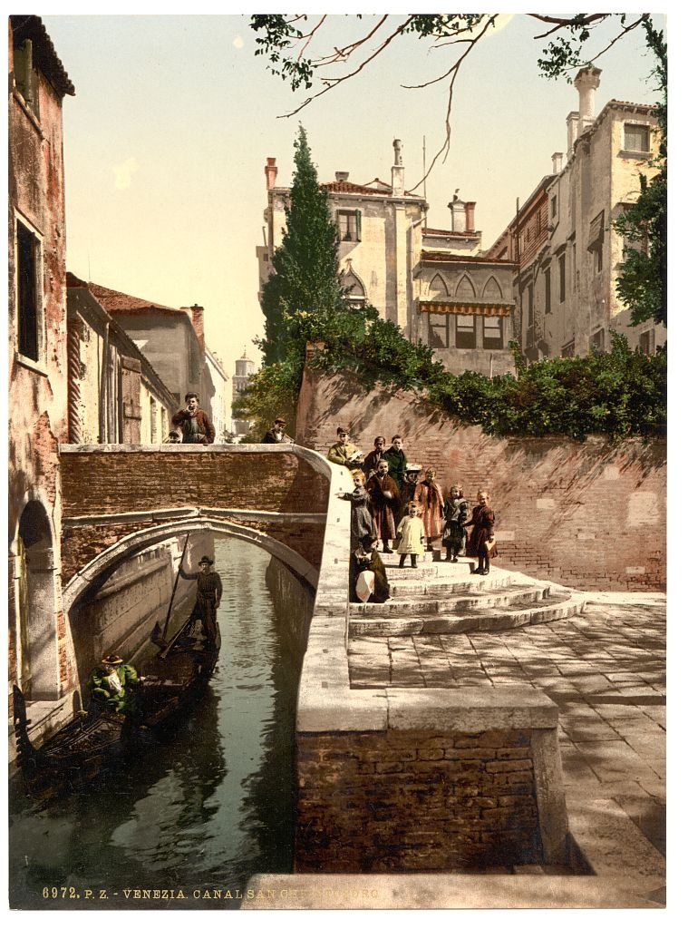 [st. Christopher Canal, Venice, Italy] (Loc)