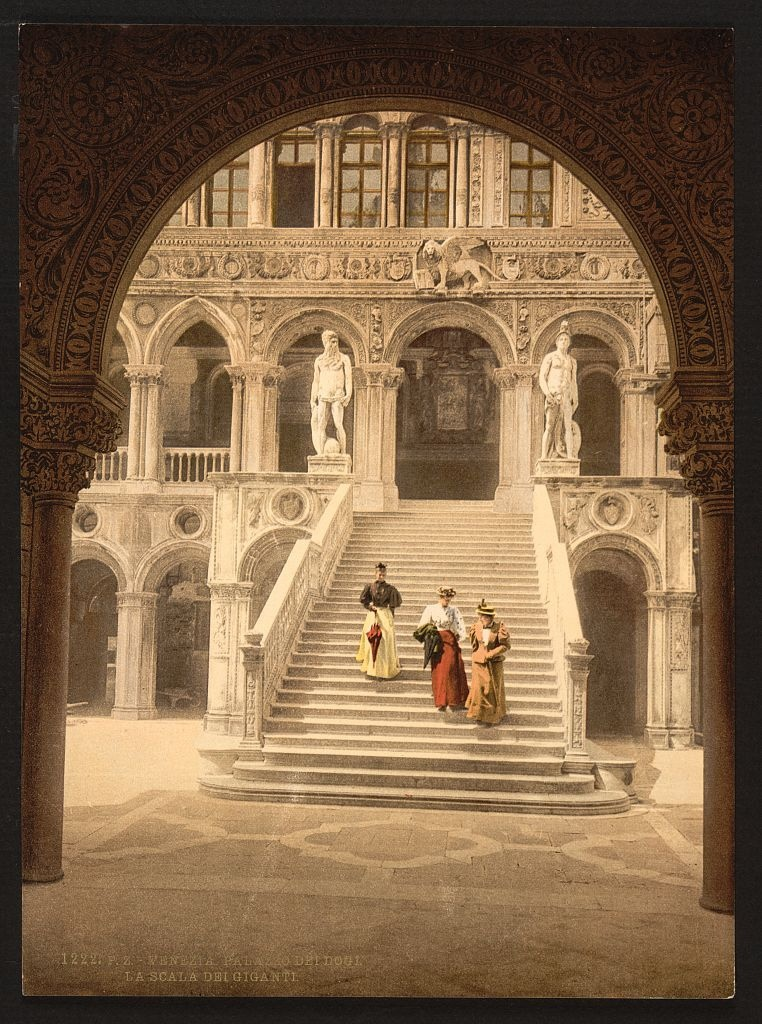 [The Staircase of the Giant's, Venice, Italy] (LOC)