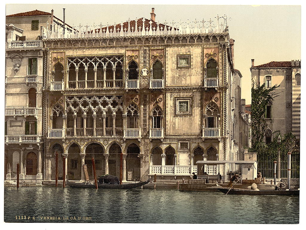 [the Golden House, Venice, Italy] (Loc)