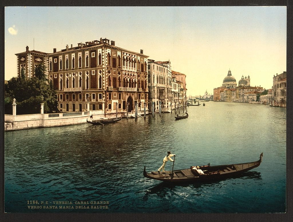 [The Grand Canal, view I, Venice, Italy] (LOC)