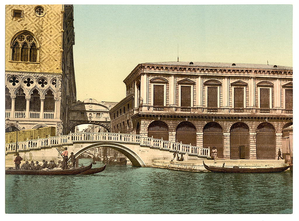 [The Bridge of Sighs, Venice, Italy] (LOC)