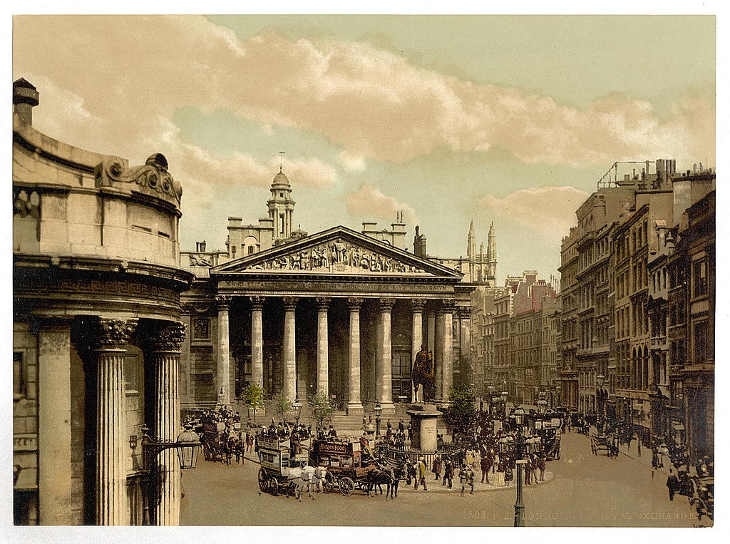 [Royal Exchange, London, England]  (LOC)