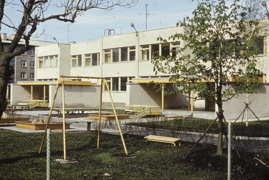 "Kindergarten of the factory ""Dvigateli"" in Tallinn"