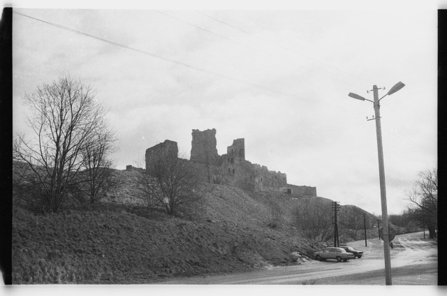 View of the ruins of Rakvere Castle