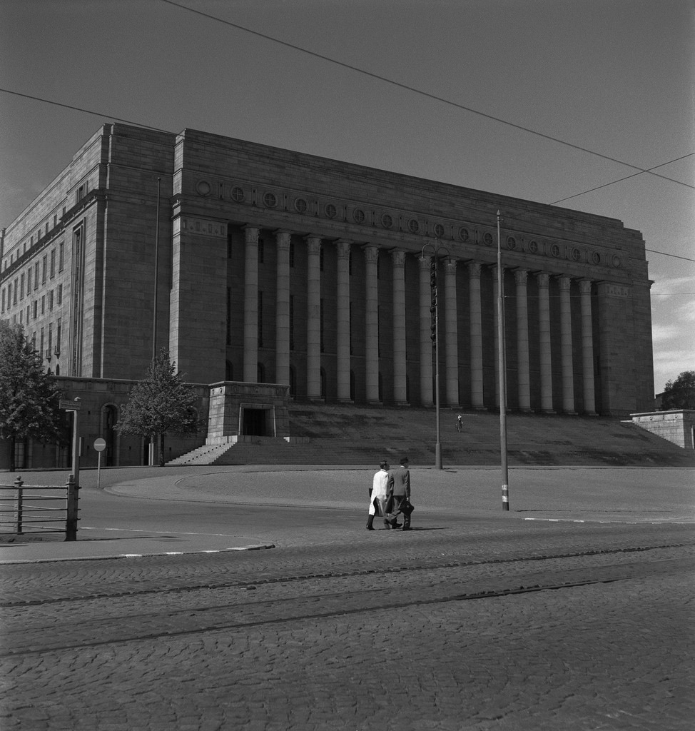 The Parliament House of Finland, 1945