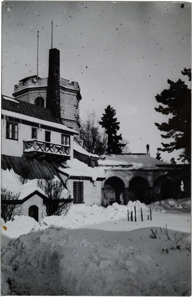 Akseli Gallen-Kallela's atelier and its tower from southwest