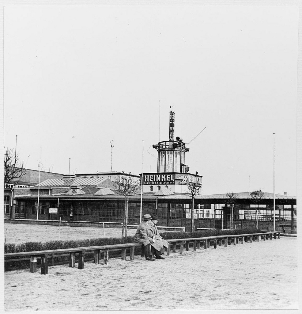 Airport Tempelhof in Berlin, Germany 1937